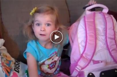 Lily's Disneyland Surprise